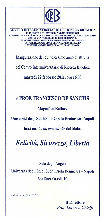 Inv. CIRB Inaugurazione XV anno